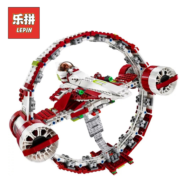Lepin 05121 Stars Series War The Jedi Starfighter with Hyperdrive DIY Model Building Kits Blocks Bricks Children Toys rollercoasters the war of the worlds