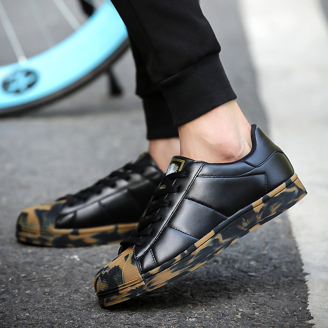 FLOHIGH Men Athletic Camouflage Sneakers