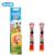 Oral B Cepillo Recargable Cabezas EB10-2K infantil Eléctrico Cabezas de cepillo de Dientes con Cerdas Suaves para Niños Twin Pack
