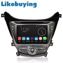 Likebuying Car 2 Din QUAD CORE 1024*600 16G Android 4.4.4 DVD GPS Radio Stereo Navi for Hyundai MDAvante 2012