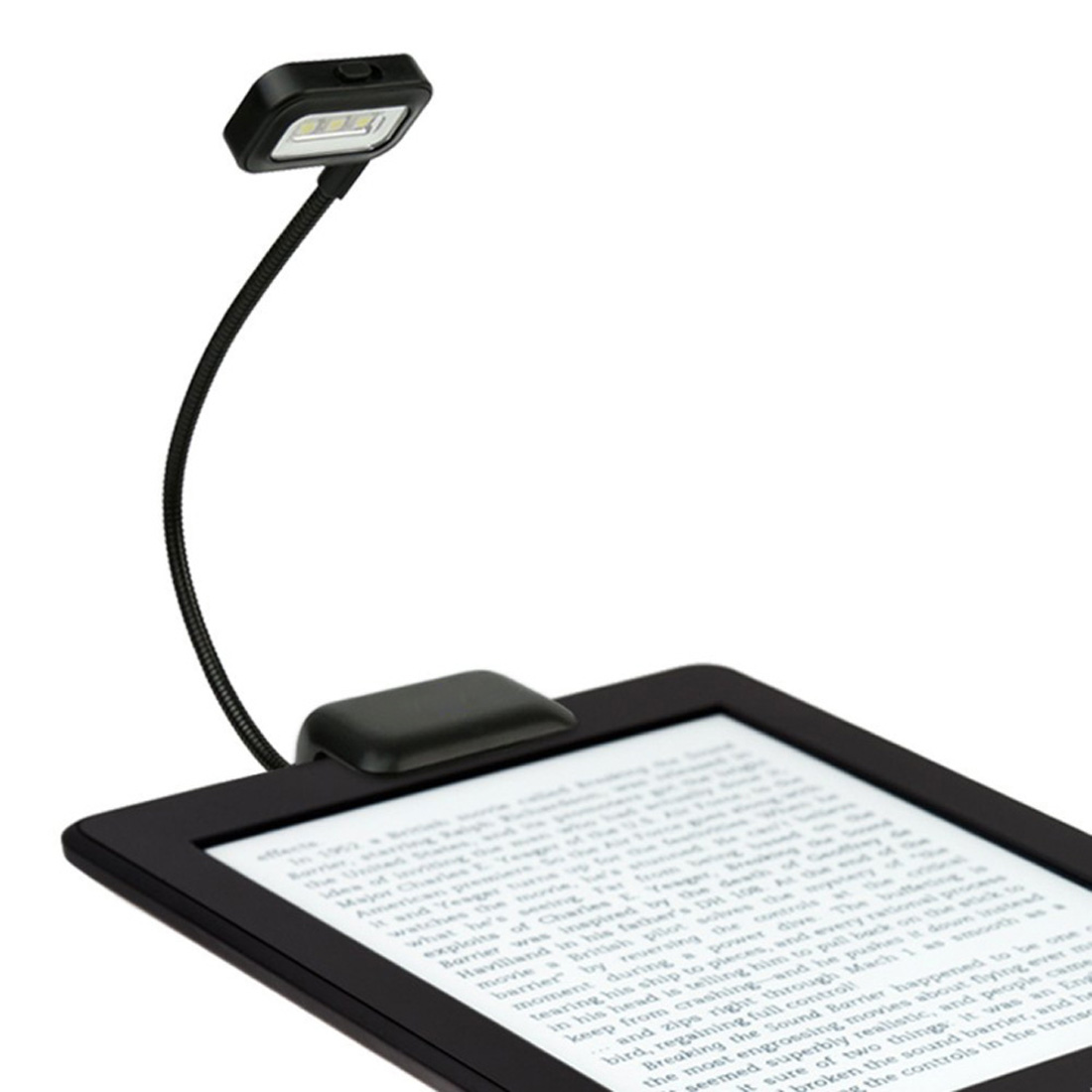0.5W Portable Lamp Flexible Mini Clip On Reading Light Reading Lamp For Amazon Kindle/eBook Readers/ PDAs(China)