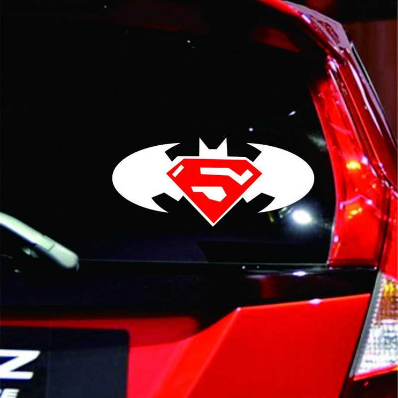 Aliauto 車の装飾バットスーパーマンダイヤモンドロゴステッカー & デカールトヨタ Proda カローラ 2014 Auris トヨタハイラックスツンドラ