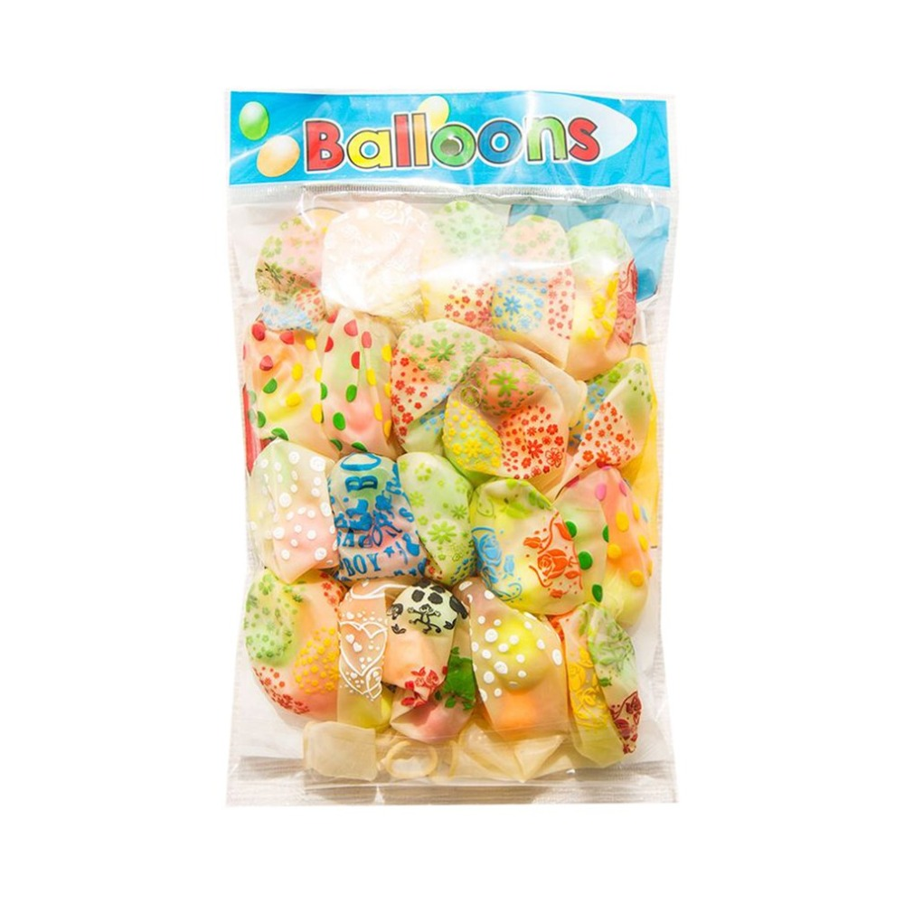 20pcs Small Bell Balloon Random Color Funny Colorful