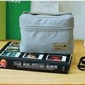 Cinza Bento bolsa térmica Insulated Cooler Bag saco de almoço Casual Container Lunch jantar viagem Tote à prova d ' água saco do piquenique