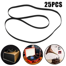 Kinco 25Pcs Replace Turntable Phono Plattenspieler Phonograph LP Vinyl Record Player Belt 408x5x0.6mm Wholesale Turntable Belt