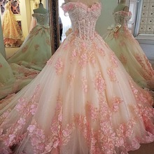 Fmogl Elegant Sweetheart Neck Beaded Sequined Ball Gown Quinceanera Dress 2020 A