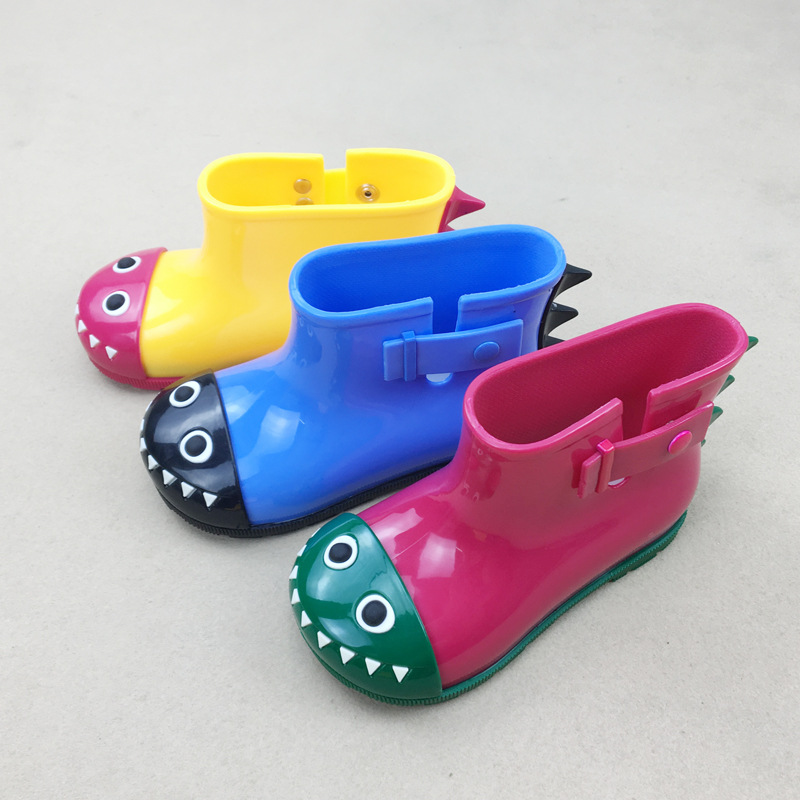 For 1-5 Years Old Baby Rainboots Cute Cartoon Fragrance Jelly Boots Kids Shoes ...