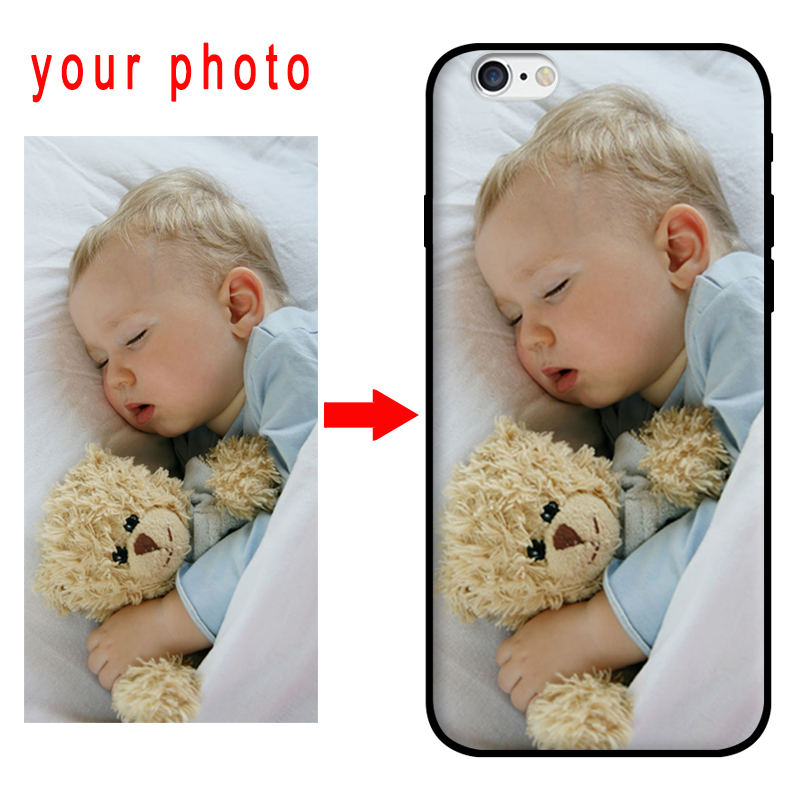 mosirui for oppo A83 Customized Photo Cover Name DIY Case for oppo A83 Black TPU silicone soft shell Customized Phone Case