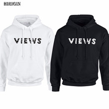 Fashion Man Women Views Letter Printed Hoodie from the Six Hoodie Drake Views from the 6 Hoody Hood(China)