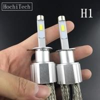 HochiTech High Quality Car LED Headlight Bulbs H1 100W 8500LM 6000K White Auto Head Lamp Off