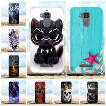 For Asus Zenfone 3 Max ZC520TL Cover Soft TPU Case Cat Patterned Funda Bag