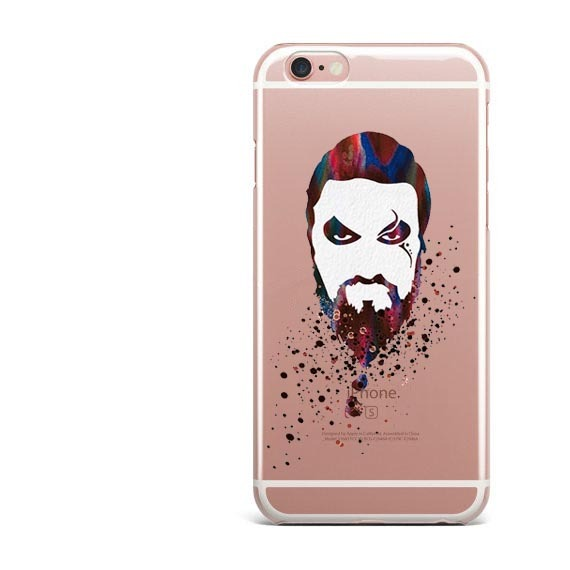 Game Of Thrones Jon Snow Water Color Design Phone Case For iPhones