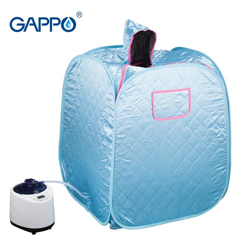 GAPPO Steam Sauna Home Sauna Generator Slimming Household Sauna Box Beneficial skin infrared Weight loss Calories bath SPA in Sauna Rooms from Home Improvement