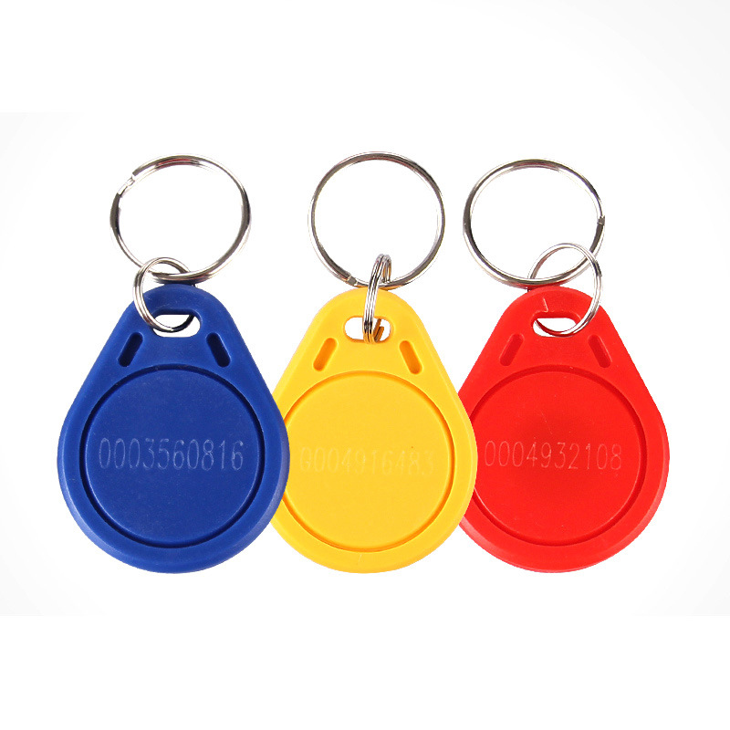 30 Pcs/lot  TK4100 125khz ID Keyfob RFID Tags ID Smart Card Read-only Access Card ABS Waterproof  With Numbers