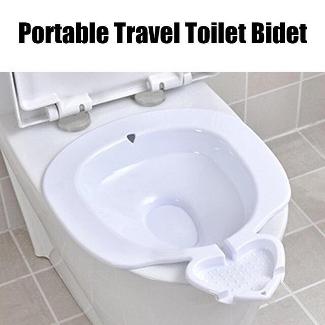 Portable Travel Toilet Bidet Personal Hygiene Camping Pregnant Elderly Safe Bath Dathroom Bidets Outdoor Camping Toilet