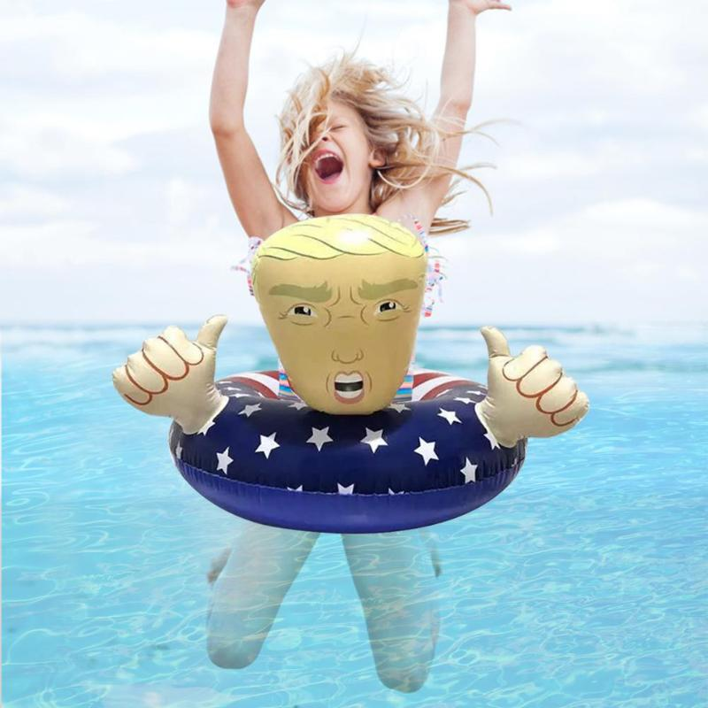1pc Funny Swimming Pool Party Toys For Children Women Environmental PVC Swimming Inflatable Floats Circle Water Sports Laps