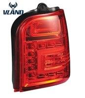 Car Styling For Proton Perodua Kancil 1994 LED Tail Lamp Smoke Black Red Rear Light