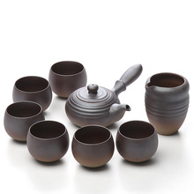 TANGPIN ceramic teapot with 6 cups handmade a tea sets chinese kung fu drinkware