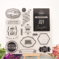 embossing folders encre scrapbooking ACRYLIC VINTAGE clear stamps FOR PHOTO SCRAPBOOKING stamp clear stamps for scrapbooking 252