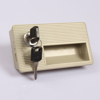 ABS Plastic combination lock file cabinet cam lock closet lock cupboard plastic cam lock with 2 keys KF805