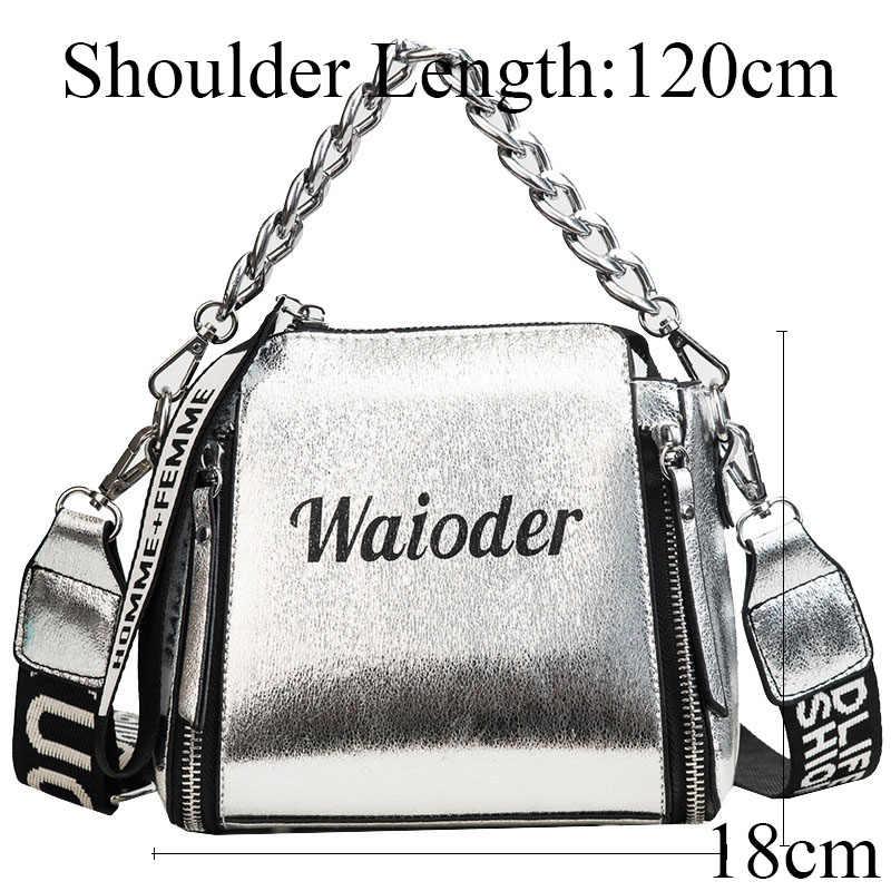 37ff8695a36d ... MSGHER сумки через плечо для женщин курьерские Сумки 2018 Винтаж кожа  сумки известный бренд заклепки маленькая