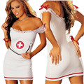 and large code nurse uniform Nightgown One-piece garment sexy lingerie hot babydoll erotic lingerie sexy hot erotic