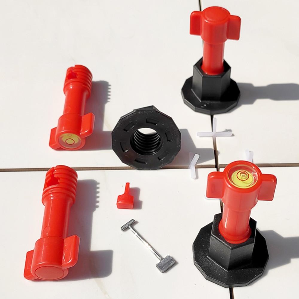 Reusable Mini Level Wedges Alignment Tile Spacers Leveler For Floor Wall Tile Carrelage Leveling System Leveler Locator Spacers