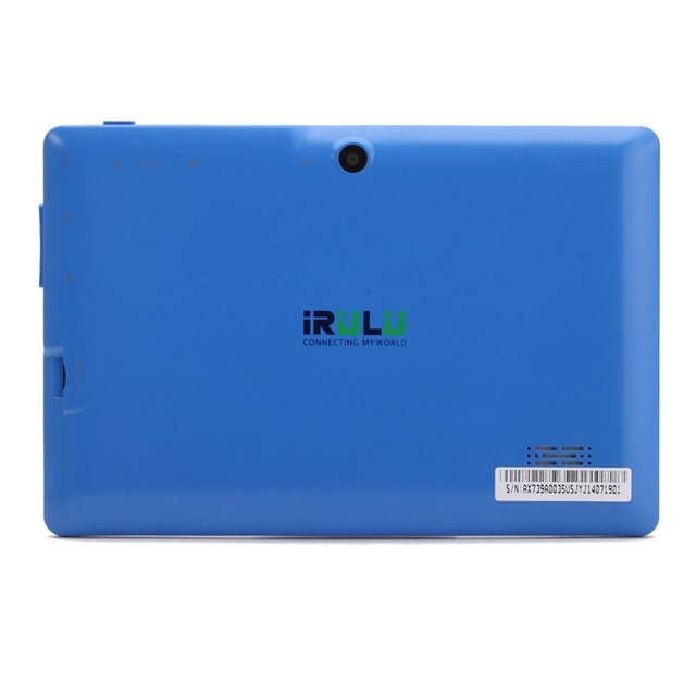 iRULU eXpro X1 7″ Tablet PC 1024*600 HD Quad Core Android 4.4 Tablet 16GB ROM Dual Cameras Support WIFI Multi-Colors New