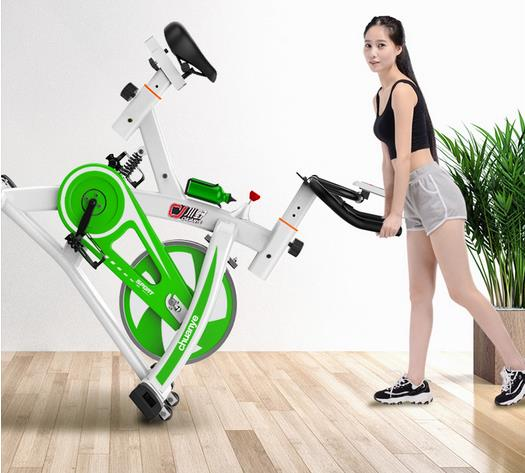 Shock Absorber Spinning Stationary Bike Indoor Exercise Bike Gym Equipment Household Finess
