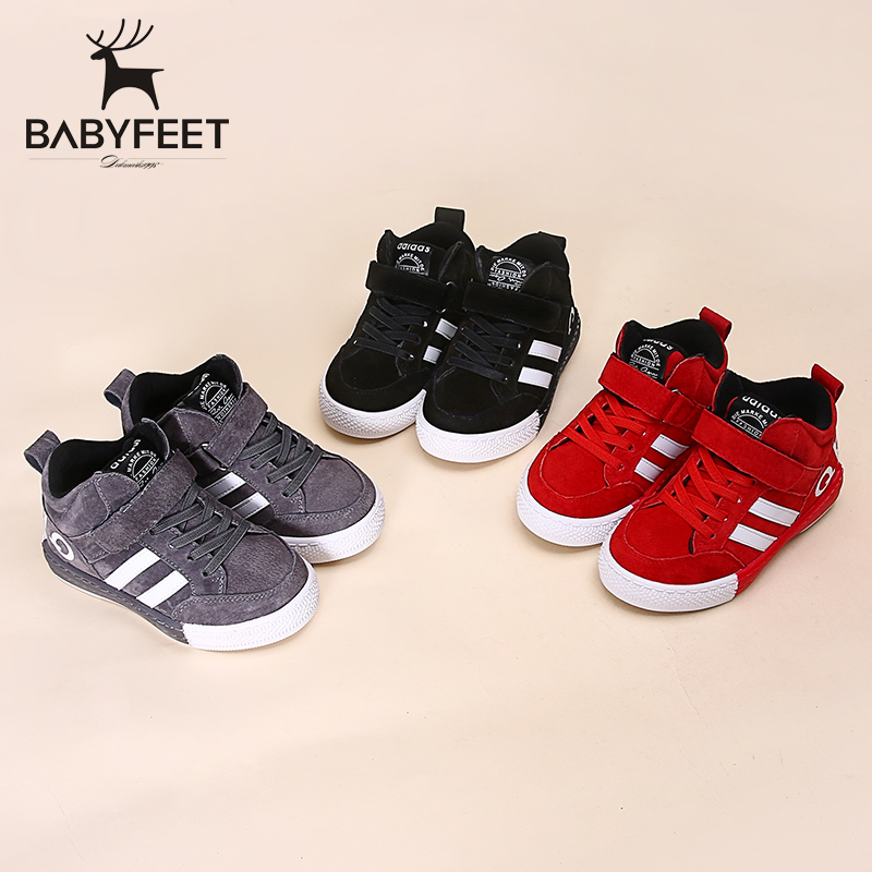 2017 Babyfeet Winter New girl flat fashion boys children casual shoes boys flats sneaker infantile baby kids infant sport shoes babyfeet 2017 winter children shoes fashion warm suede leather sport running school tenis girl infant boys sneakers flat loafers