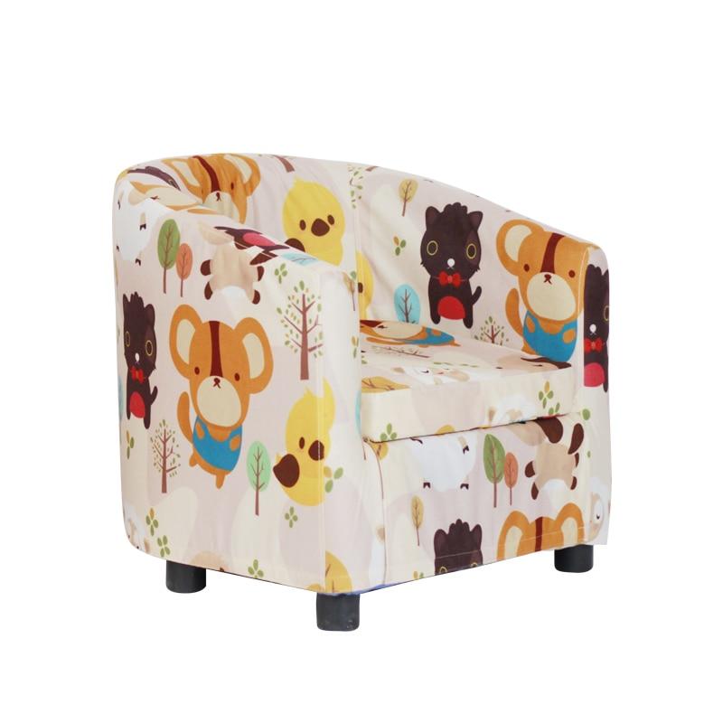 Children Sofa Cartoon Girl Princess 4-14 Year Old Kids Schoolboy Lazy Sofa Seat Disassembly And Washing