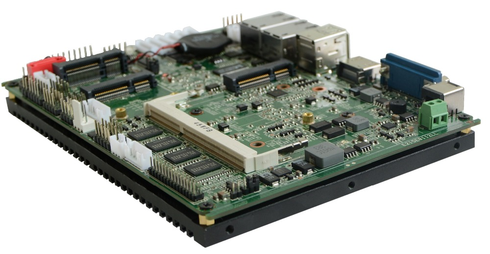 Onboard 2G RAM mini atx motherboard with 1* mini SATA and Sata (PCM3-N2800)