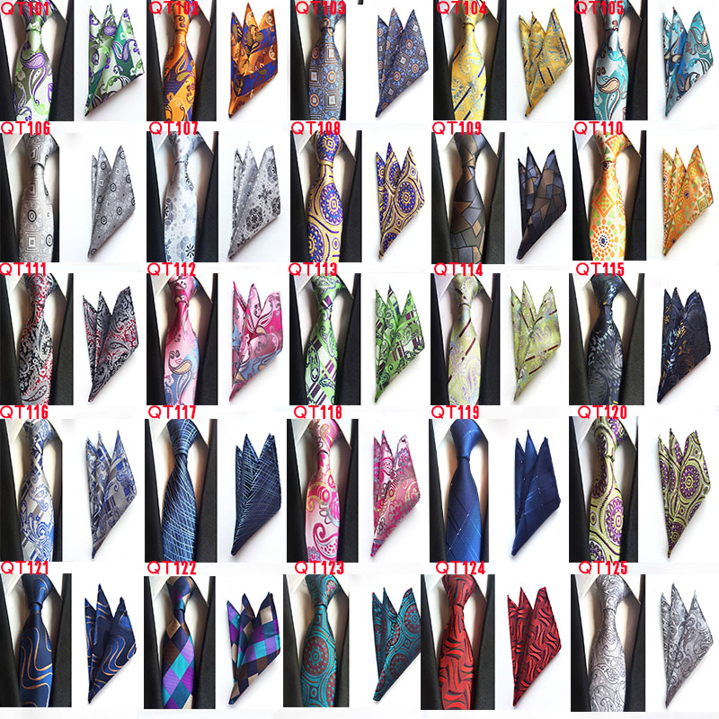 Модные геометрические формы бриллиантовый стиль Серебряный галстук Стразы запонки набор свадебный тонкий серебряный галстук для жениха г... - 6