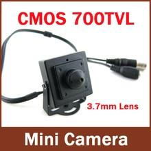 """Мини HD 3.7 мм мини-камера 700TVL 1/4 """"CMOS Видеонаблюдения Цветная купольная Камера"""