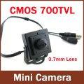 Mini HD 3.7mm mini camera 700TVL 1/4 ''CMOS Vigilância Cor CCTV Camera