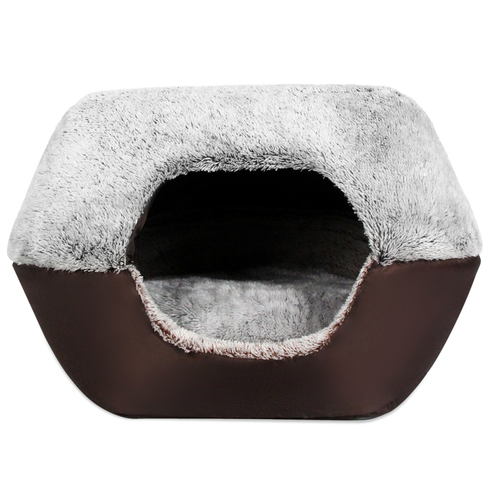 Original Solid Dog Bed Original Luxury Pet Kennel 2 Color Dog Bed Soft Puppy Cushion Cat Bed Pet Bed For Dogs Pet House
