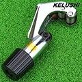 KELUSHI CT-274 Cortador De Fibra Óptica 4-28mm (Diámetro De Corte Ajustable) el Tono de Plata Tubo para FTTH, envío Gratis