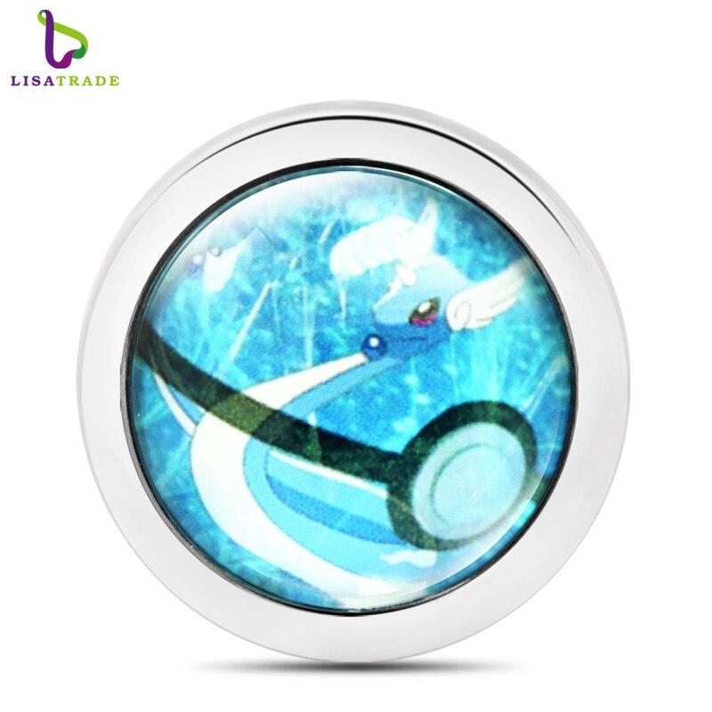 ᐂ5 unids nueva 6 vidrio estilo monedas colgante moneda colgantes ...