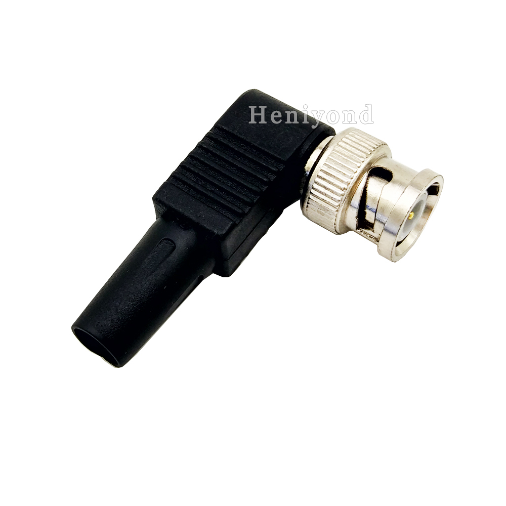 Security & Protection ... Transmission & Cables ... 1707736804 ... 2 ... 10pcs RG59 BNC male Plug pin Solderless Straight Angle video adapter bnc Connector for CCTV Camera ...