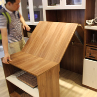 Multifunctional invisible table desk furniture hardware connection rail