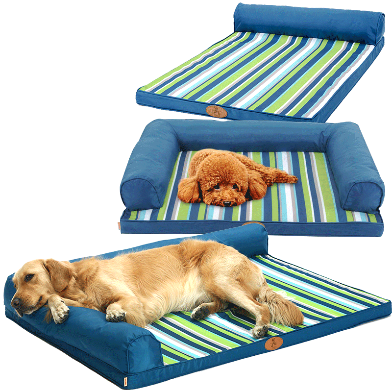 Prime Hoopet Pet Bed Dog Beds For Large Dogs Ultimate All Seasons Couch Style Headrest Edition Pillow Top Orthopedic Bralicious Painted Fabric Chair Ideas Braliciousco
