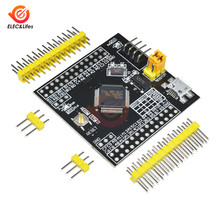 Mini usb stm32f103rbt6 arm 32-bit cortex stm32 desenvolvimento placa de expansão do flash i/o programador microcontrolador para ardunio(China)
