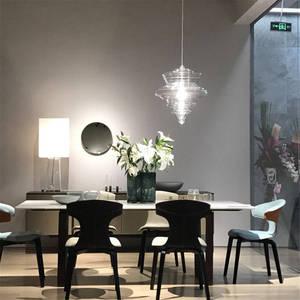 Image 5 - נורדי בצורת דלעת מוכתם זכוכית תליון אורות סלון חדר אוכל חדר מטבח led luminaire לופט דקור גופי תאורה