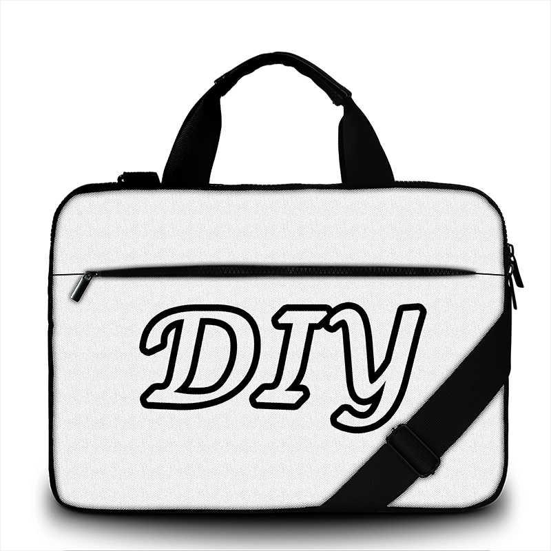 Сумка для ноутбука под заказ 15,6, 17 чехол для ноутбука xiaomi air 13 DIY сумка на плечо для ноутбука macbook air 13/dell/hp/asus/lenovo