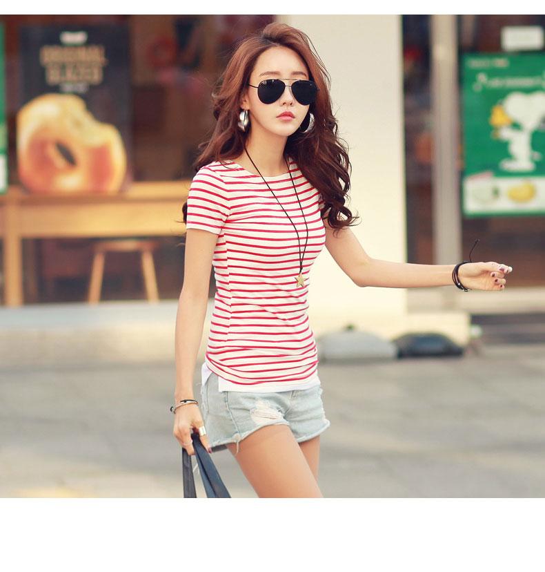 HTB1GBuuRVXXXXbNXVXXq6xXFXXXX - Volocean Summer Casual T-shirts For Women Classic Cotton