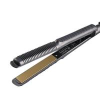 2017 Professional Temperature Control Titanium Electronic Hair Straighteners Corrugated Curler Crimper Waves Iron Tools FM88