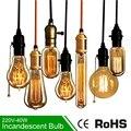 Luz 40 W Lâmpada Incandescente Edison Lâmpada Retro Vintage E27 220 V Edison Lâmpada Lâmpada Lâmpadas Incandescentes Edison Lâmpada do bulbo