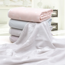 Super Soft Material Tencel Baby Bath Towel Skin-friendly Exq