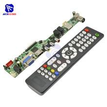 Универсальный ЖК-контроллер разрешение ТВ материнская плата VGA HDMI AV tv USB HDMI интерфейс драйвер плата модуль управления приводом