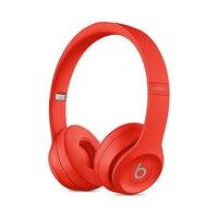 Beats by Dr. Dre Beats Solo3 Wireless, Inalambrico y alambrico, Diadema, Binaural, Supraaural, 215 g, Rojo